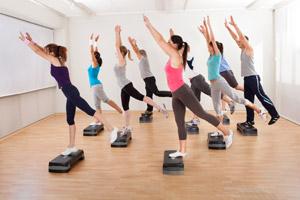 Aerobics step